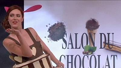 The 20th annual Paris Salon du Chocolat exhibition – nocomment