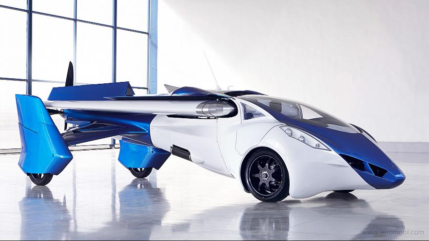 Inventor hopes flying car will take off as prototype is unveiled