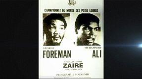 Ali-Foreman, 40 anni fa il 'rumble in the jungle' di Kinshasa