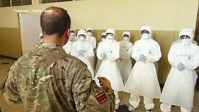 International aid effort to fight Ebola stepped up
