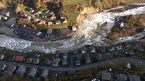Severe floods destroy homes in western Norway