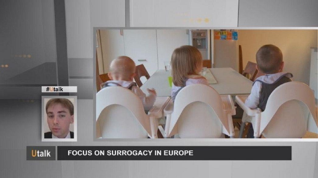Avrupa'da taşıyıcı annelik tartışması