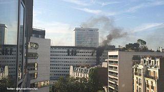 France : Incendie maîtrisé à la Maison de la Radio