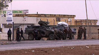 Peschmerga warten auf Einmarsch in Kobani