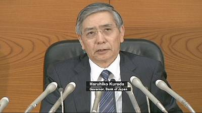 Bank of Japan forced to boost stimulus as economy flounders