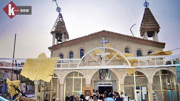 """اعادة افتتاح كنيسة للكلدان في كركوك """"رسالة أمل"""" لمسيحيي العراق"""