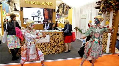 Wish you were here: attracting tourism at the London World Travel Market