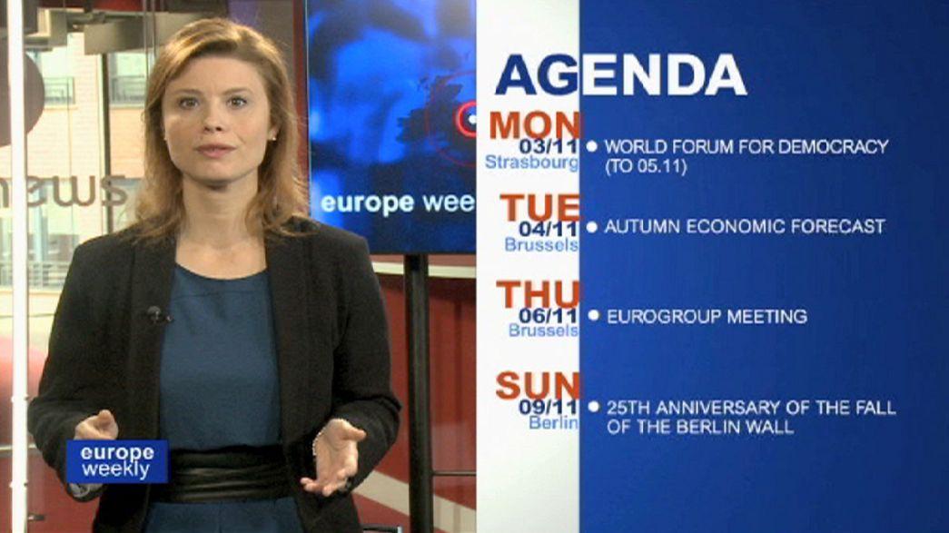 """""""Europe Weekly"""": acordo sobre gás e adeus a Barroso em destaque"""
