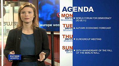 Despedida de Barroso como presidente de la Comisión Europea