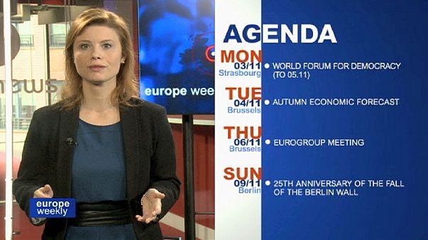 Сделка по газу. Протесты в Венгрии. ЕС и Эбола. Уход Баррозу