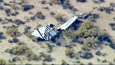 Un piloto muerto y otro herido en el accidente de una nave espacial de Virgin