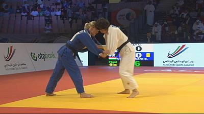 Kelmendi, número uno del mundo, gana GP de Judo de Abu Dhabi