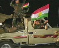 Iraqi Pershmerga arrive in Kobani to fight ISIL