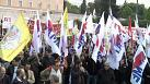 Thousands of Greeks rally in anti-austerity march on parliament
