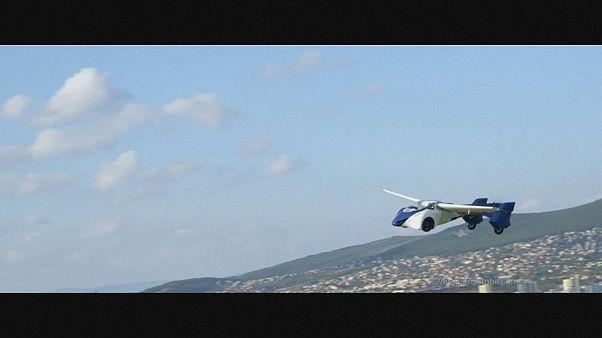 Um novo protótipo de carro voador