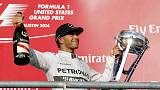 Hamilton wins US Grand Prix and takes a step closer to world title