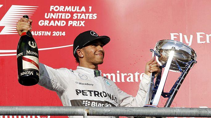 السرعة: هاميلتون يفوز بجائزة الولايات المتحدة الكبرى للفورمولا واحد