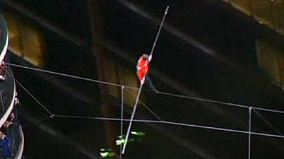 Wallenda defying heights – nocomment