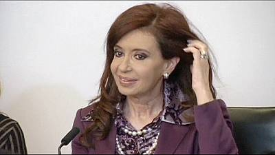 Argentina's president hospitalised with 'infectious fever'