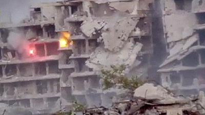 Video claims to show residential shelling in Syria – nocomment