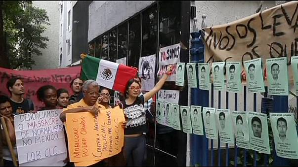 المكسيك:  متظاهرون يريدون معرفة مصير الطلاب المفقودين