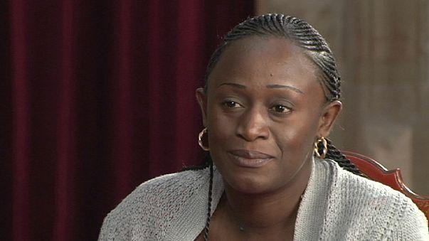 """Caddy Adzuba: """"Tenho apenas um microfone para denunciar o que acontece às mulheres"""""""