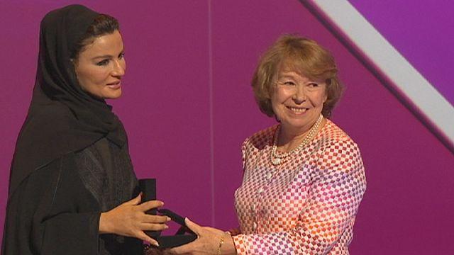 Ann Cotton, ganadora del premio WISE de Educación