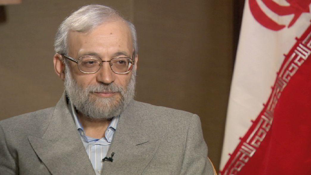 Iran's Larijani slams West's 'bias' on human rights