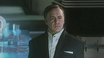 Kevin Spacey stars as villain in 'Call of Duty' video game