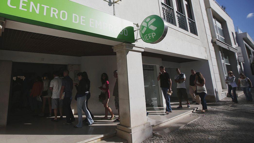Portugal: Desemprego cai para 13,1%