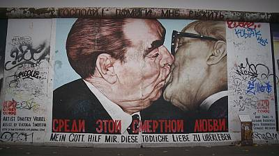 Author of East Side Gallery's 'Fraternity Kiss' 25 years on