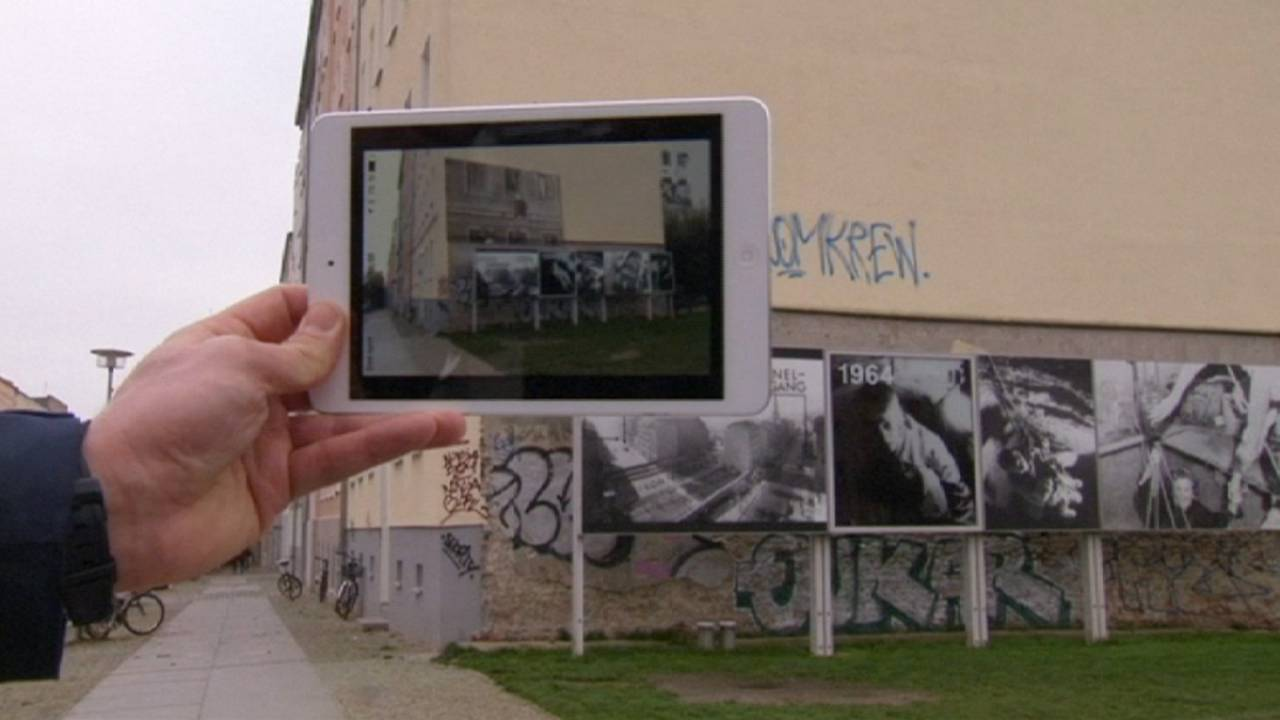 German film-maker offers time-travel app for augmented reality experience