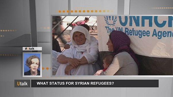 Welchen Status haben die syrischen Flüchtlinge?