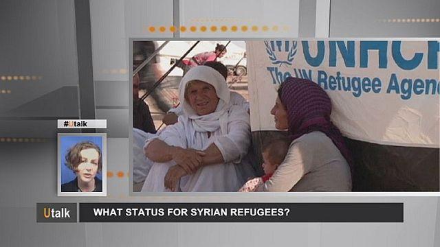 Сирийские беженцы: статус решает все!