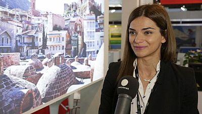 World Travel Market 2014 interview – Teona Chachua, Georgia