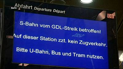 Black Friday for passengers as longest rail strike in German history continues