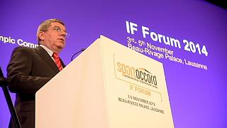 Forum SportAccord: Presidente do COI defende o progresso no desporto internacional