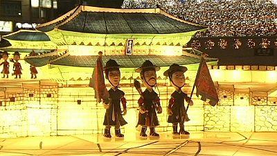 كوريا الجنوبية:  فوانيس مهرجان الهانجي – nocomment