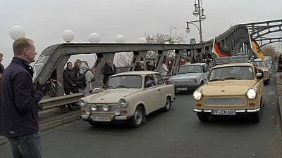 Berlin celebrates the Trabant, iconic East German symbol