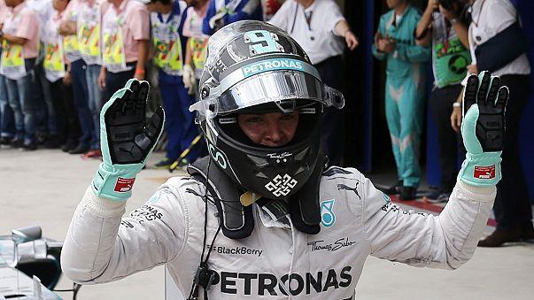 Speed : une victoire pour Rosberg, un record pour Marquez