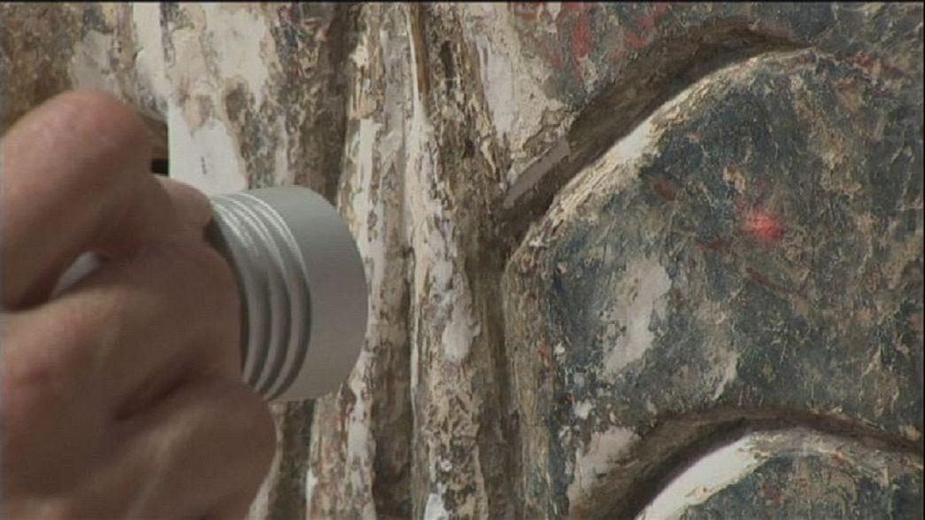 تقنية الليزر لتنظيف تحف الفاتيكان