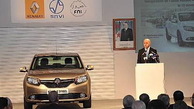 First French-Algerian Renault factory opens in Oran