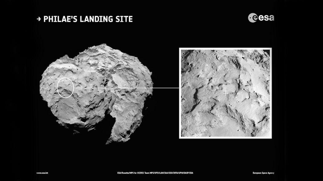 Missione Rosetta: atterraggio sulla cometa 67P Churyumov-Gerasimenko