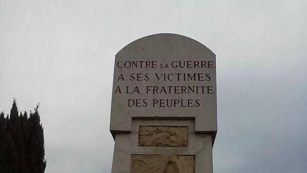 """14-18 : """"Maudite soit la guerre"""", les rares monuments aux morts pacifistes"""