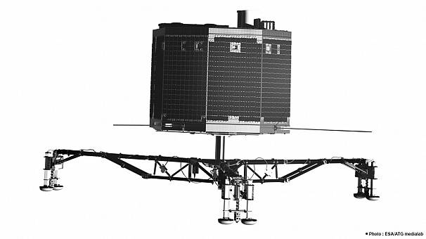 Misión Rosetta: retrato robot del robot Philae