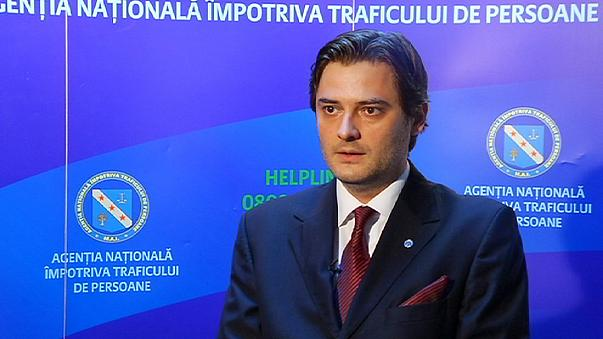 Romulus Ungureanu, Romania's National Rapporteur for Human Trafficking