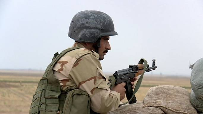 Standing firm: the Kurds' frontline battle with ISIL