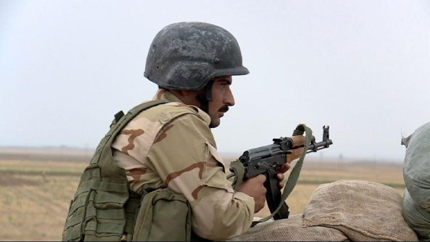 """قوات البشمركة في مواجهة تنظيم ما يسمى بالدولة الإسلامية """""""