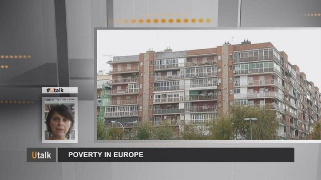 شبح الفقر يقلق الكثير من الأوربيين .