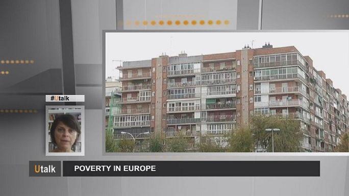 Четверть европейцев живет в бедности